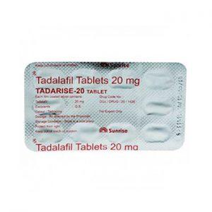 Buy Tadarise 20mg online